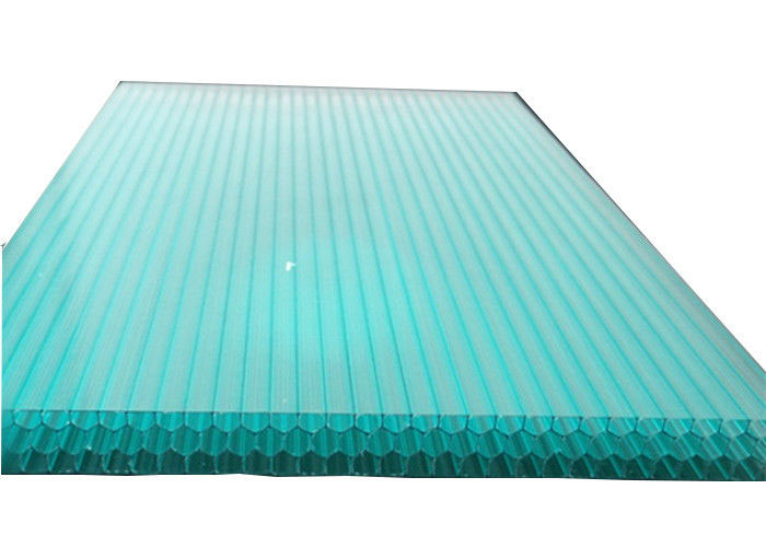 Polycarbonate Honeycomb Four wall Triple wall Structure Sheet